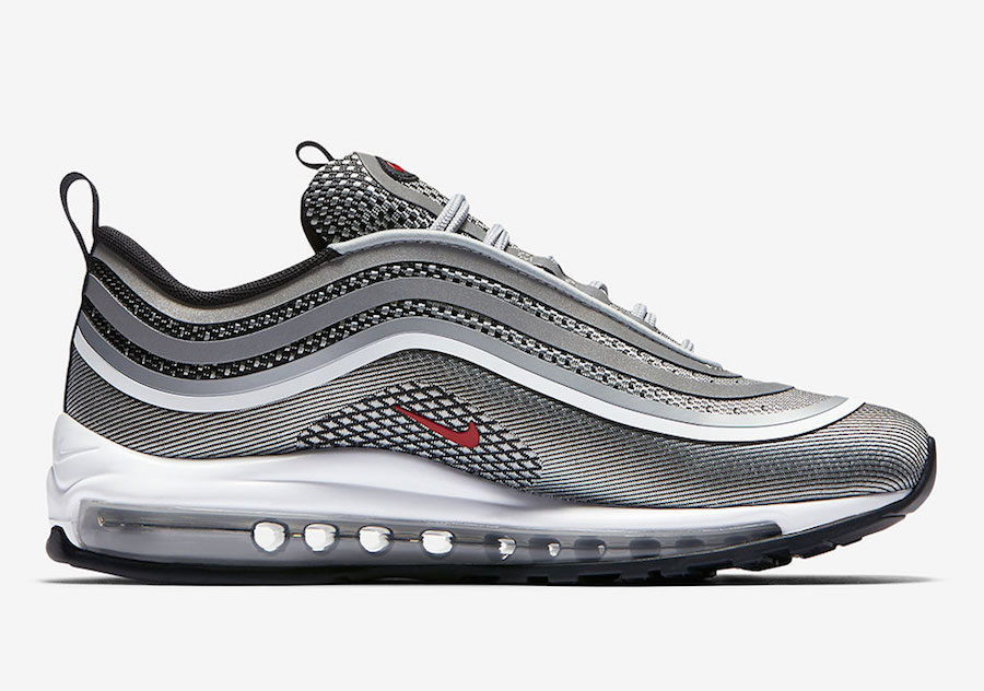 nike air max 97 ultra 17 silver bullet 917704 002 release date sneakerfiles. Black Bedroom Furniture Sets. Home Design Ideas