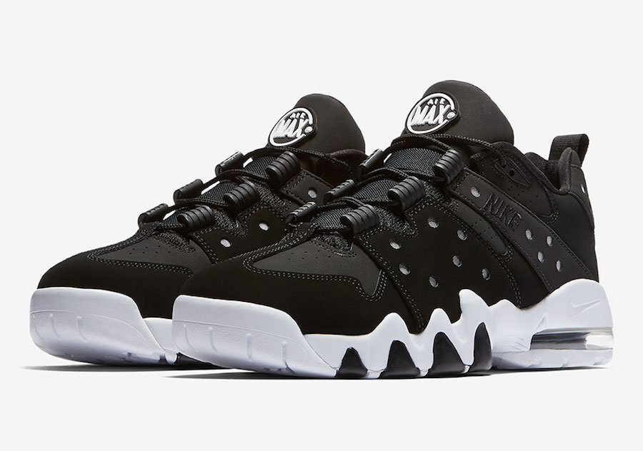 half off d5e10 748d5 Nike Air Max2 CB 94 Low Black White