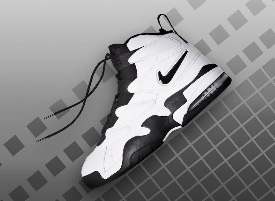 Nike Air Max2 Uptempo White Black 922934-102