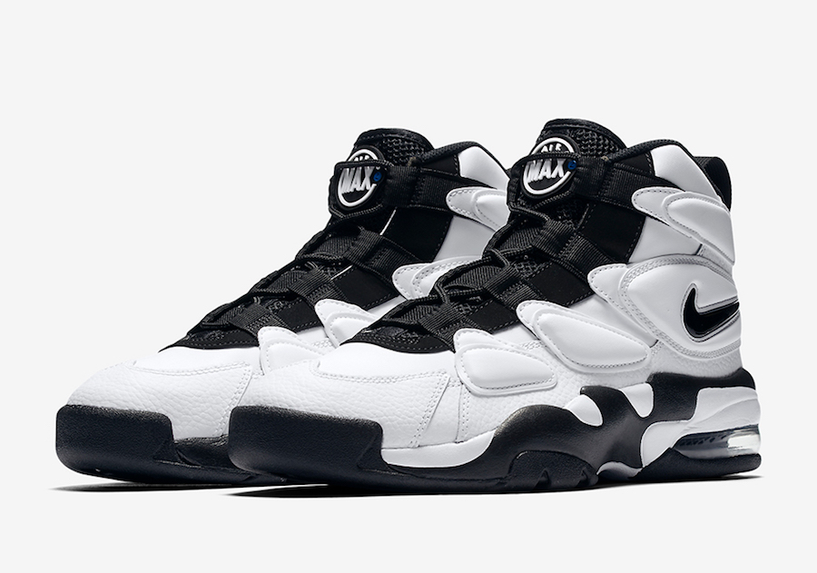 Nike Air Max2 Uptempo White Black Release Date