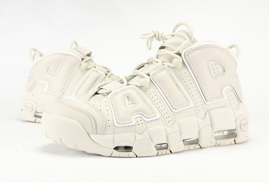 Nike Air More Uptempo Light Bone Review On Feet
