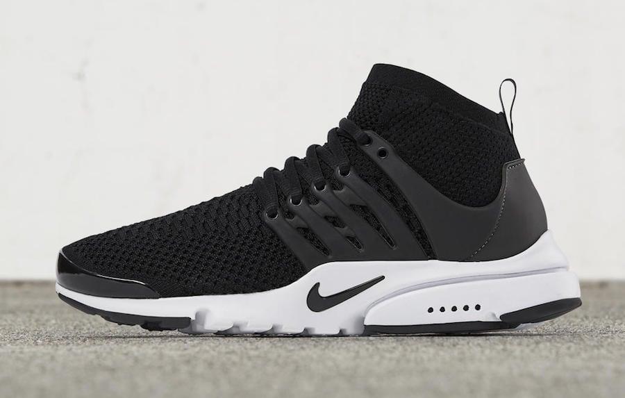 Nike Air Presto Ultra Flyknit Black White