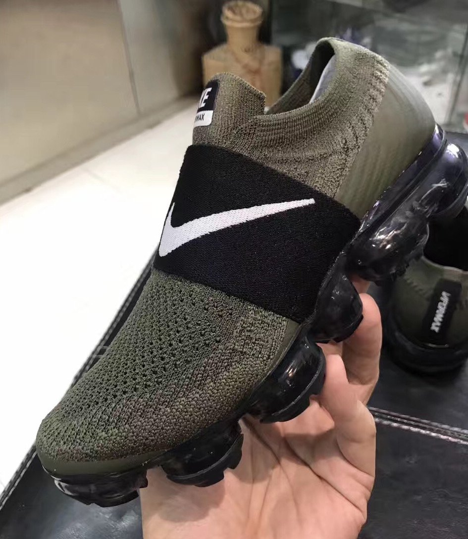 a19f849c24b581 Nike Air VaporMax Laceless Strap Colorways