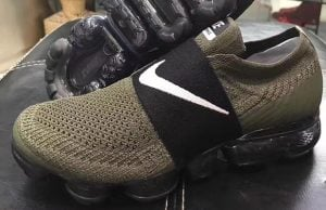 Nike Air VaporMax Laceless Olive Black