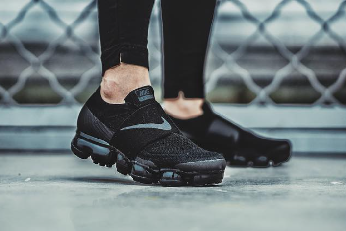 Nike Air VaporMax Strap On Feet