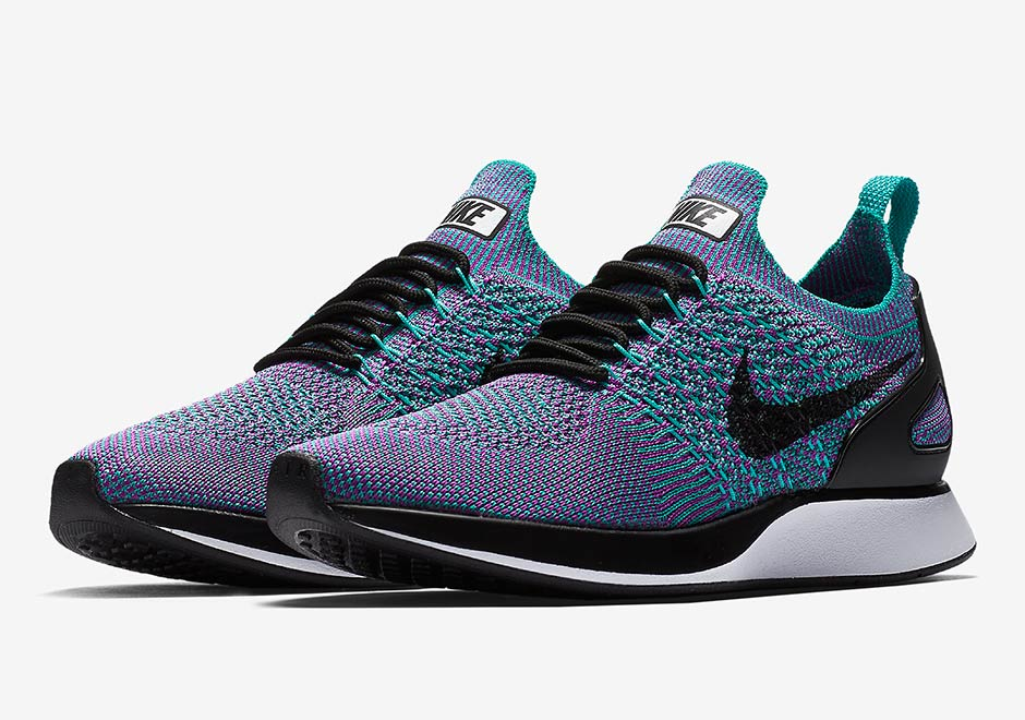 new arrival 52206 68d8b Nike Air Zoom Mariah Flyknit Racer Clear Jade Release Date