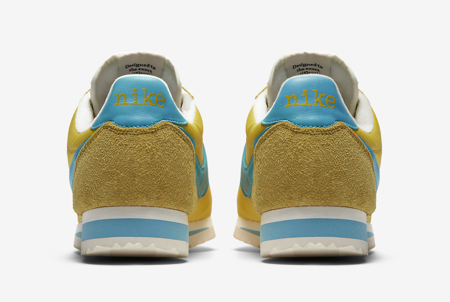 Nike Cortez Kenny Moore Yellow AH7853-700