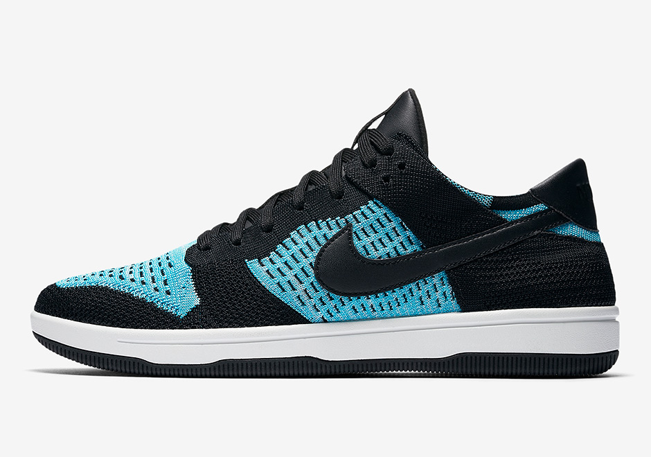 Nike Dunk Low Flyknit Chlorine Blue