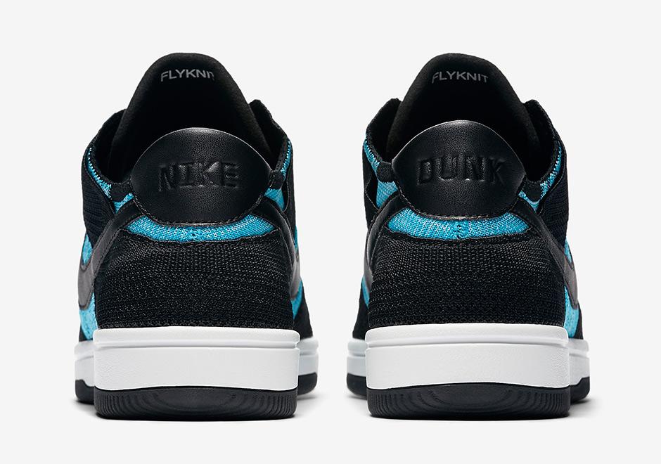 3003890a2081ff Nike Dunk Low Flyknit Chlorine Blue