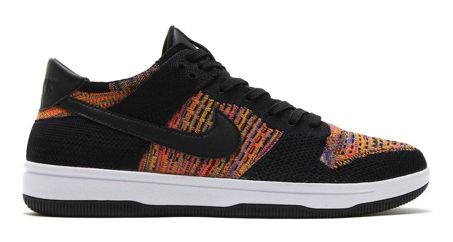 Nike Dunk Low Flyknit Multicolor Release Date