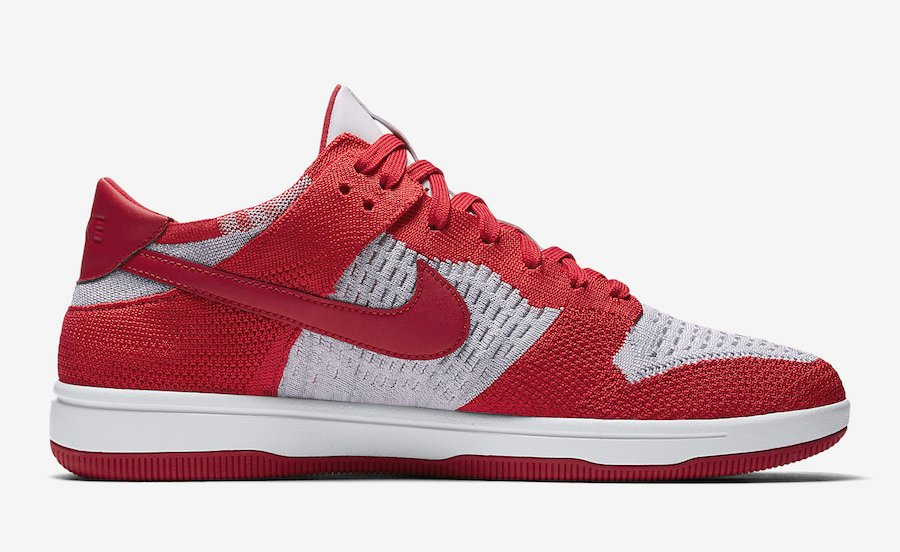 Nike Dunk Low Flyknit University Red