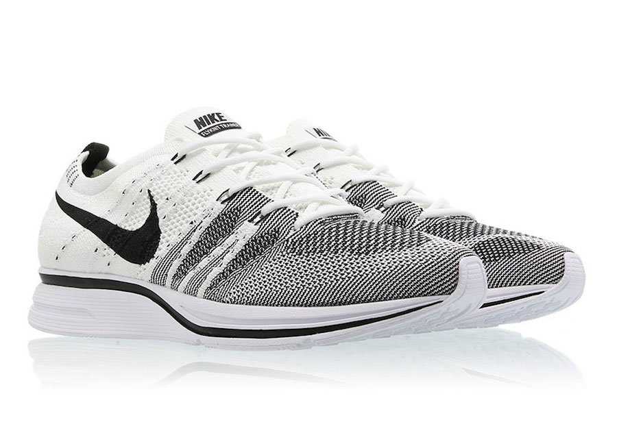 Nike Flyknit Trainer White Black AH8396-100 2017