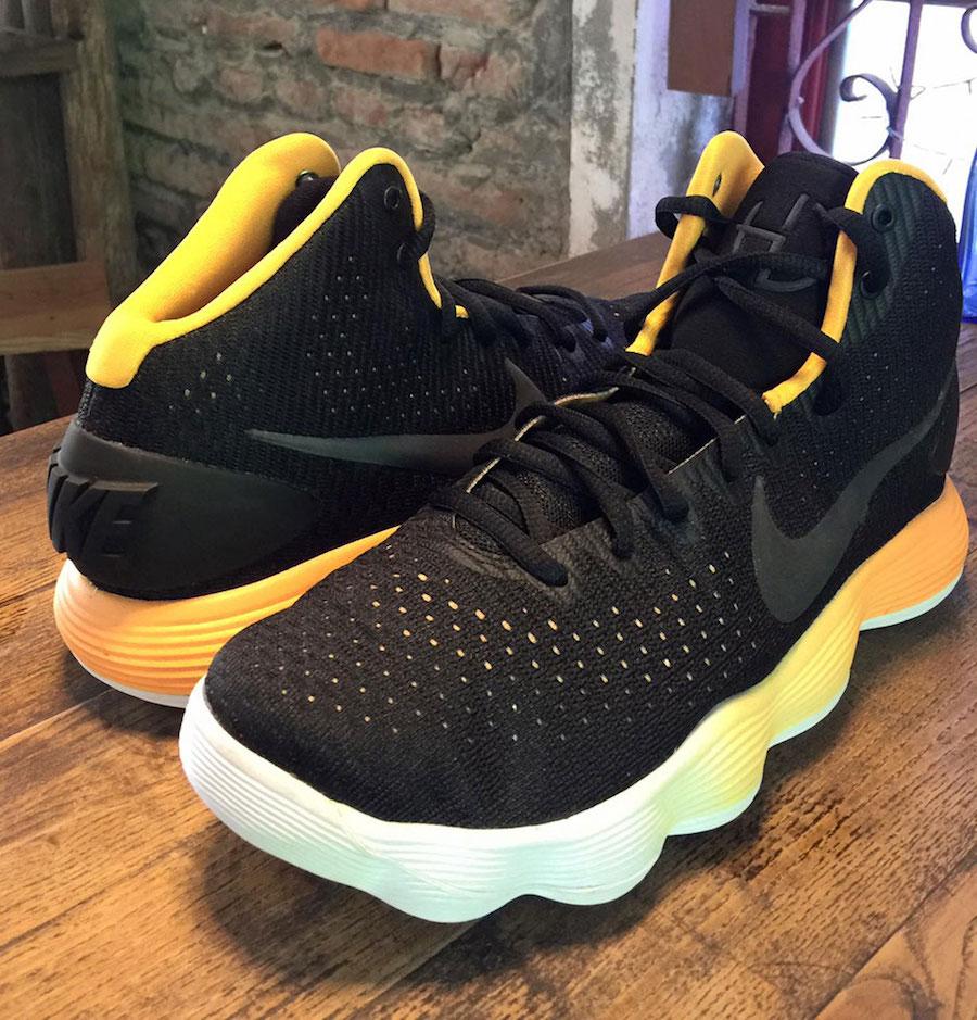 Nike Hyperdunk 2017 Black Yellow Gradient