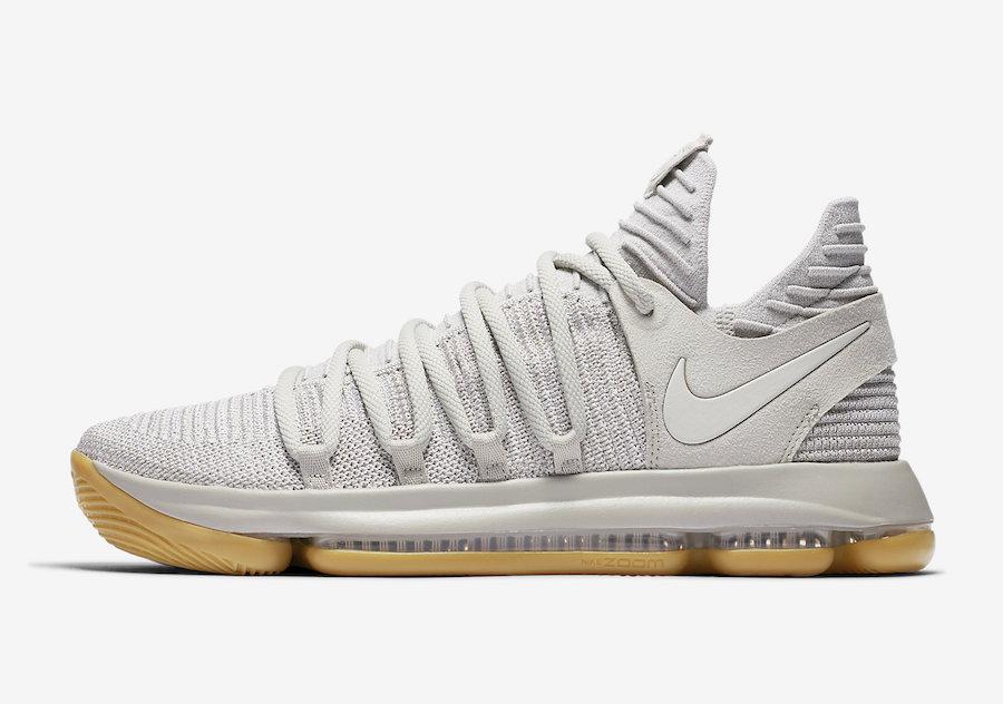Nike KD 10 Pale Grey 897817-001