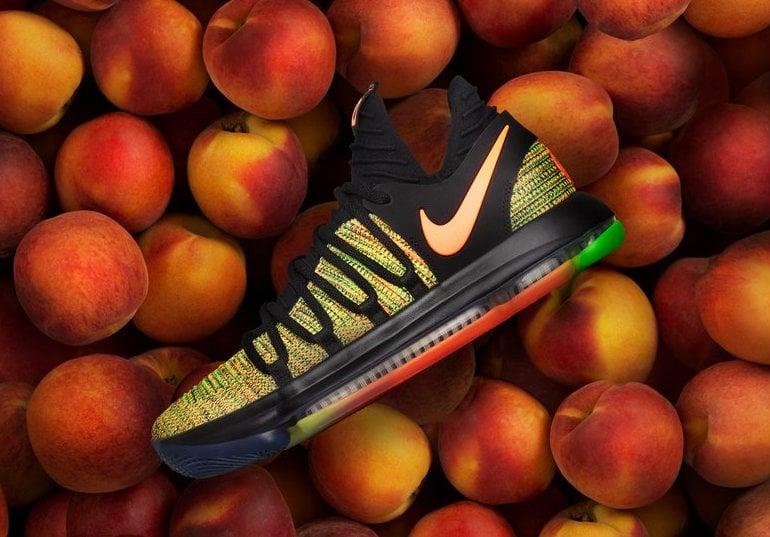 Nike KD 10 Peach Jam EYBL