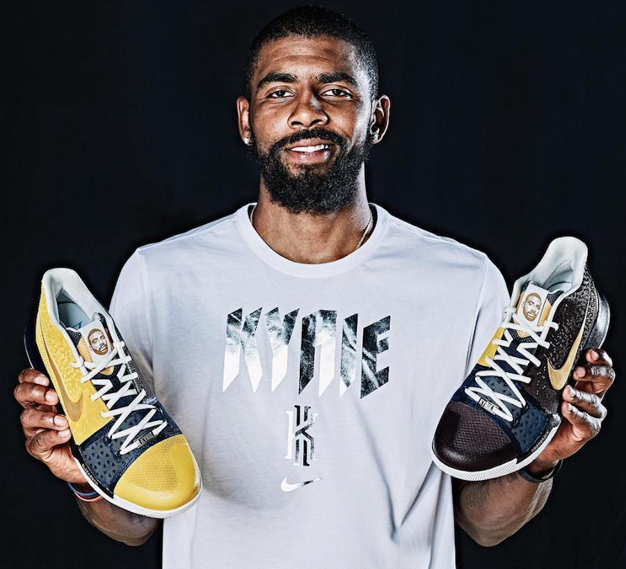 Nike Kyrie 3 Face Logo PE