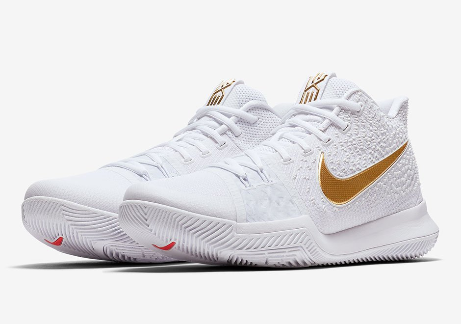 Nike Kyrie 3 White Gold Release Date
