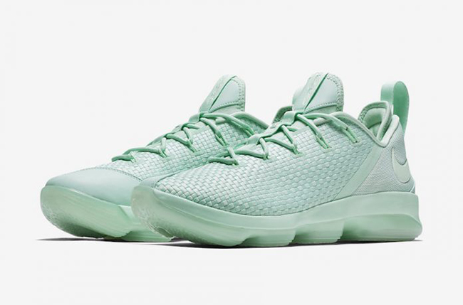 Nike LeBron 14 Low Mint Green Release Date