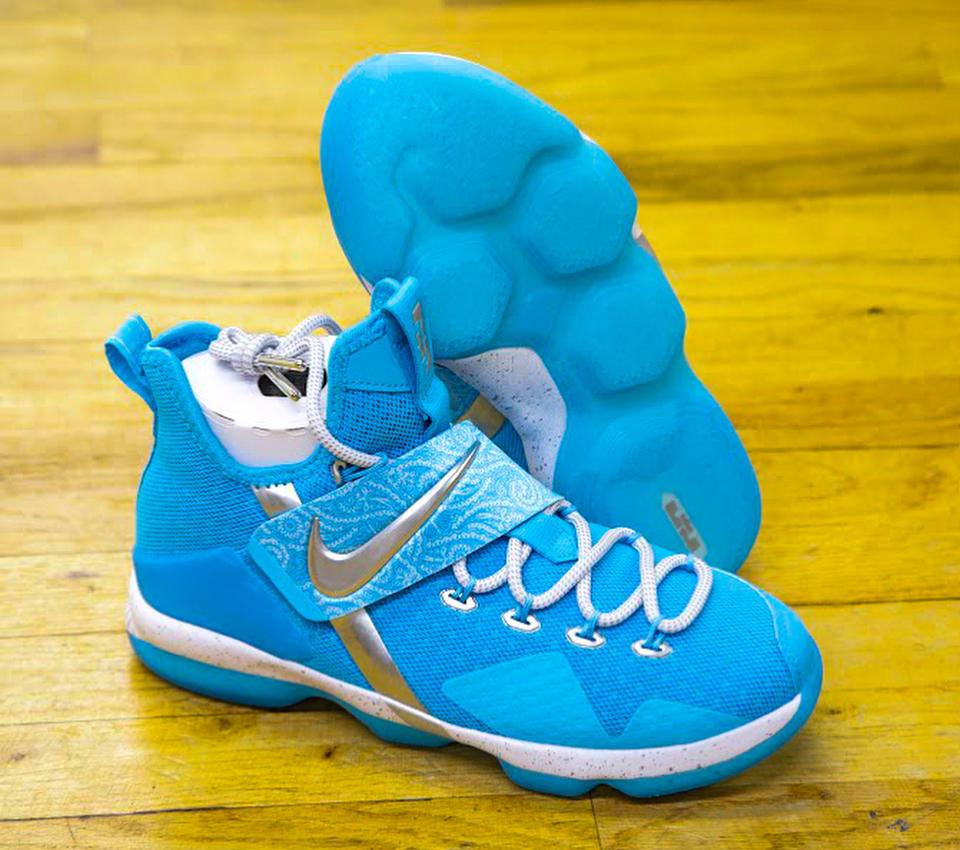 Nike LeBron 14 Ric Flair Release Date AA3258-404