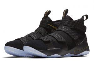 Nike LeBron Soldier 11 Finals Black Gold