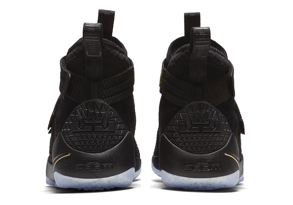Nike LeBron Soldier 11 Finals Black Gold