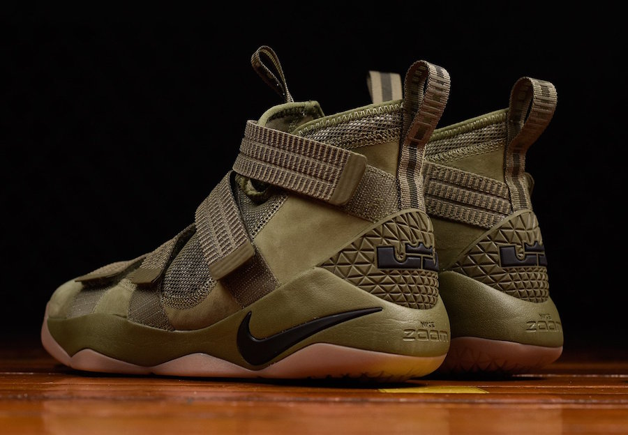 421d3cadea1fd Nike LeBron Soldier 11 SFG Olive 897646-200 Release Date
