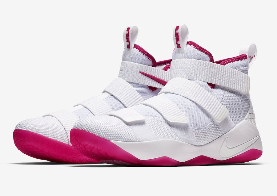 5b74ce8d3f77 Nike LeBron Soldier 11 Kay Yow 897645-102 Release Date