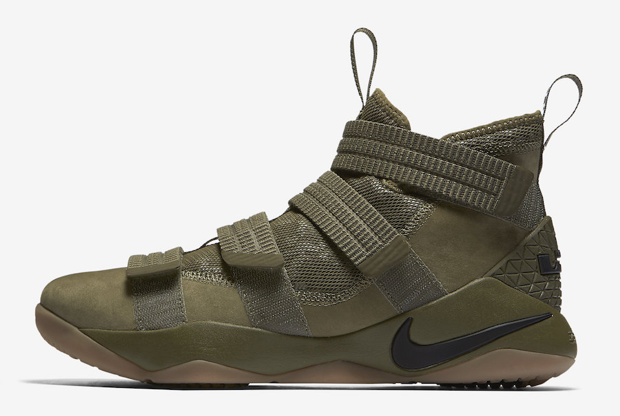 Nike LeBron Soldier 11 SFG Olive Release Date