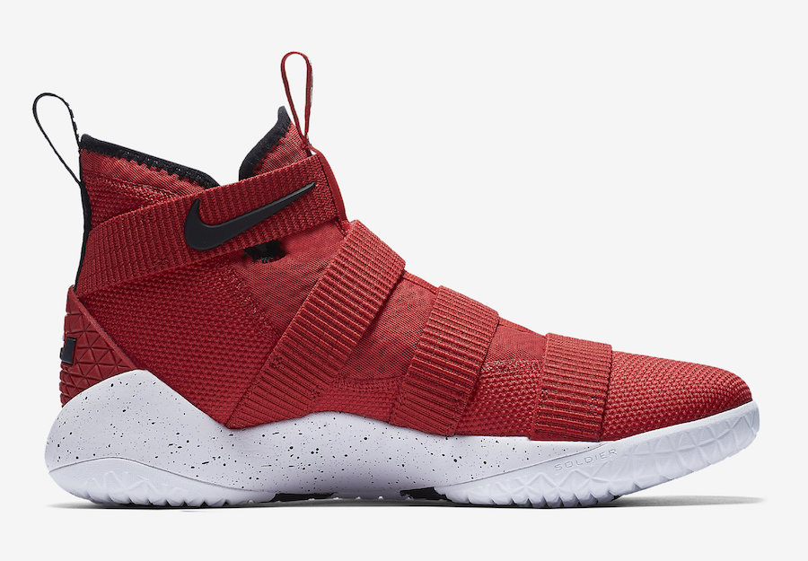 Nike LeBron Soldier 11 University Red Release Date