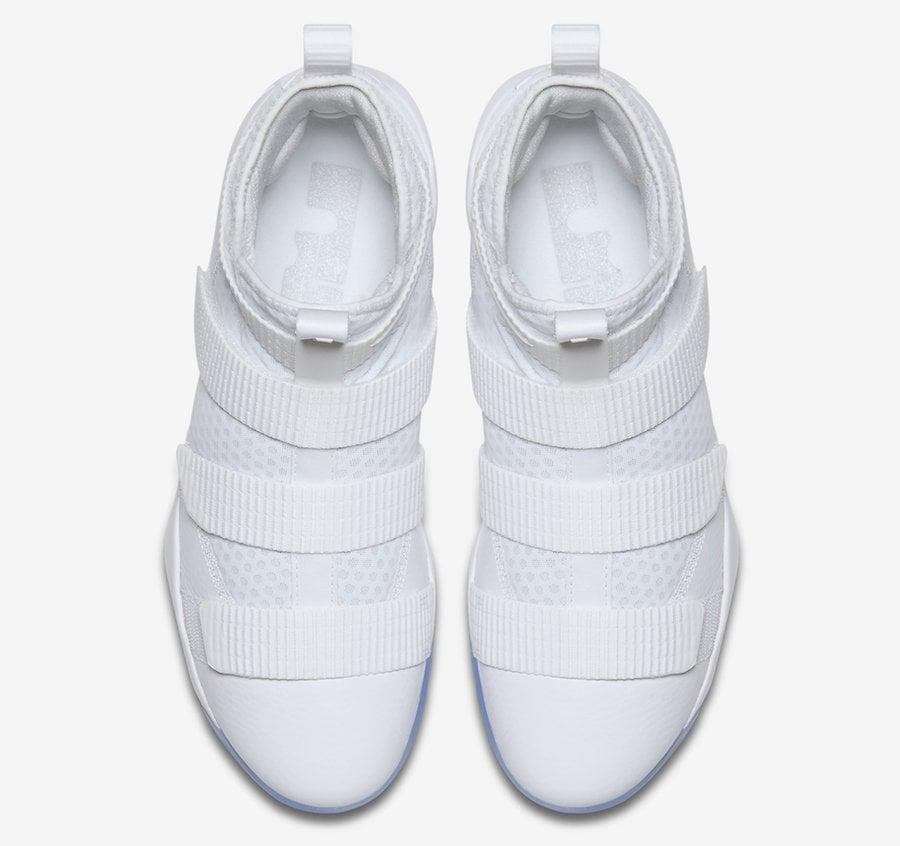 Nike LeBron Soldier 11 White Ice