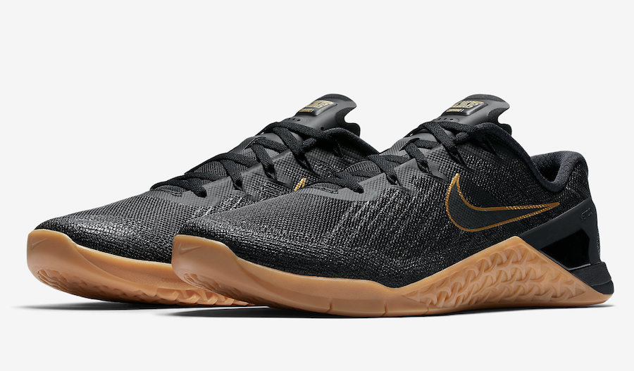 Nike Metcon 3 Black X Gold Release Date