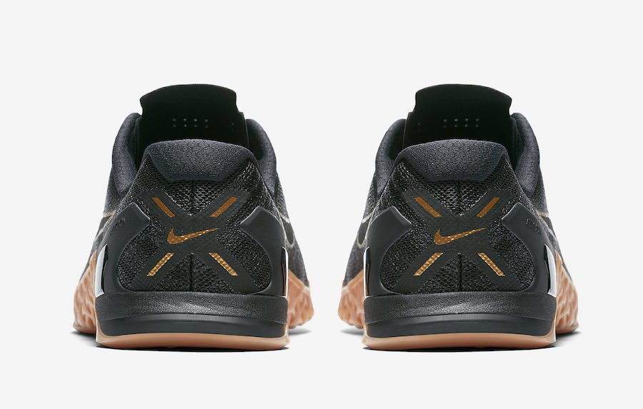 Nike Metcon 3 Black X Gold AH7106-070