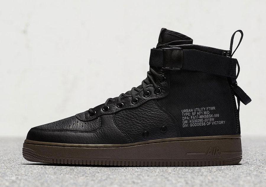 Nike SF-AF1 Mid Hazel 917753-002