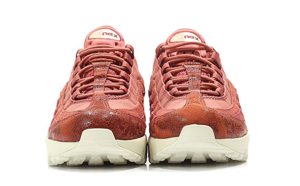 Nike WMNS Air Max 95 Premium Light Redwood Red Stardust Sail Mushroom 807443-801