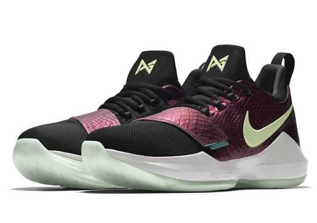 NikeID PG 1 Colorways