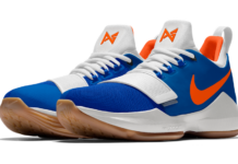 NikeID PG 1 OKC Thunder Colors