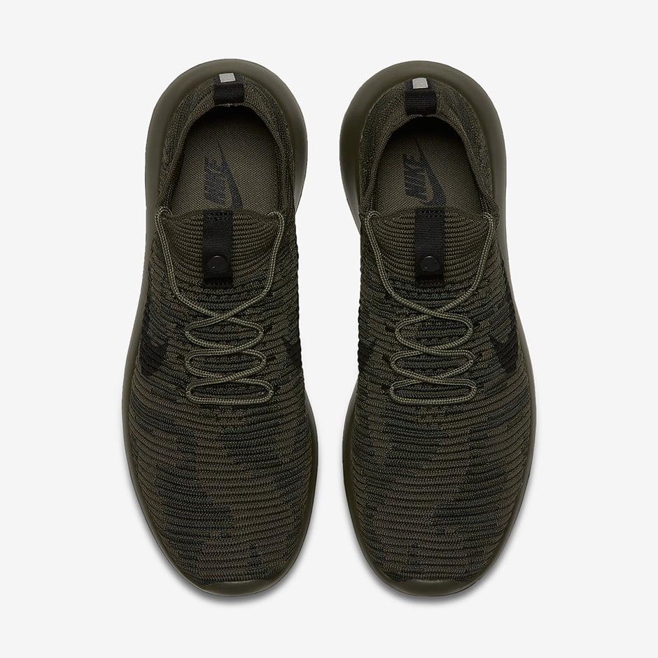 NikeLab Roshe Two Flyknit Camo Cargo Khaki