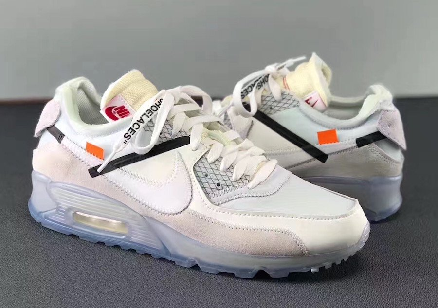 OFF-WHITE Nike Air Max 90 AA7293-100