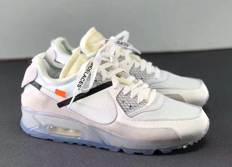 nike air max 90 x off white