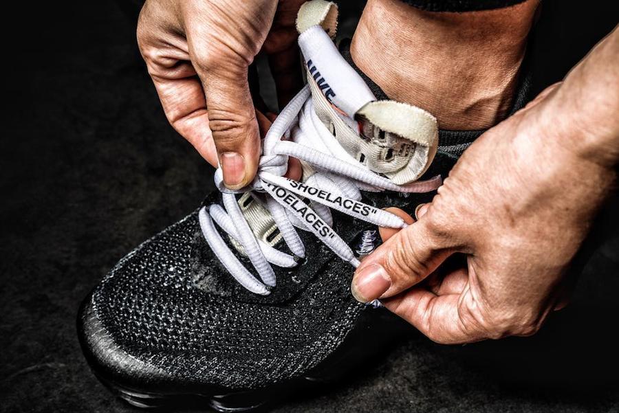 OFF-WHITE Nike Air VaporMax On Feet