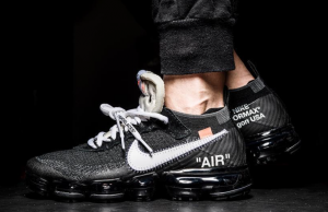 OFF-WHITE Nike Air VaporMax On Feet