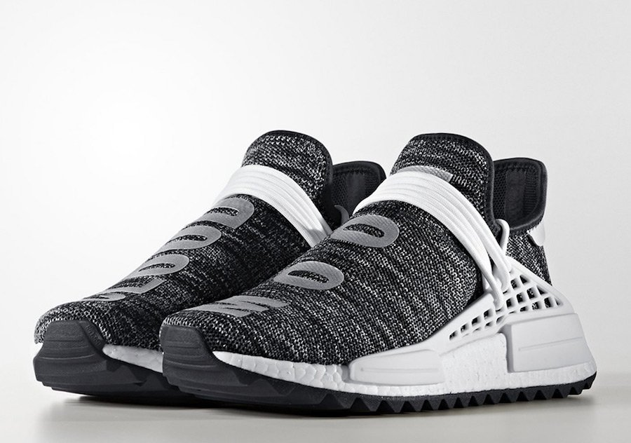 Cheap NMD PW Human Race Black White hot sale online Tal Cual