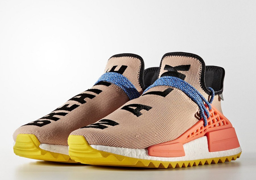 sports shoes 70584 69022 Pharrell adidas NMD Hu Trail AC7361. Pharrell x adidas NMD Hu Trail Sun Glow  Core Black-EQT Yellow