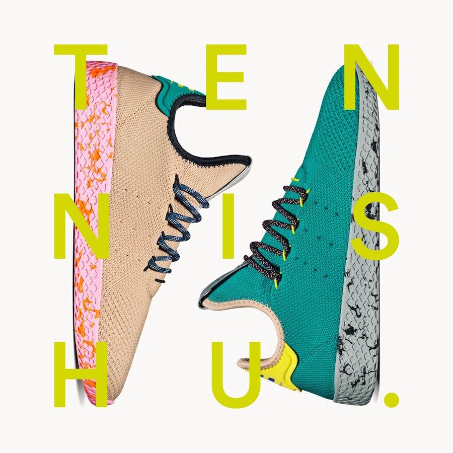 Pharrell adidas Tennis Hu Color Pack Release Date