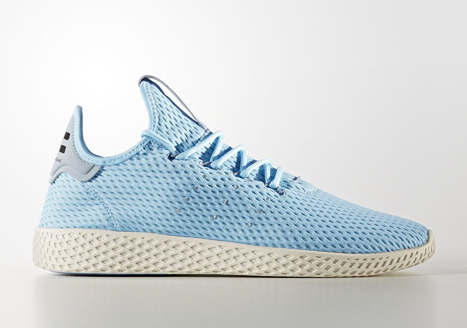Pharrell adidas Tennis Hu Light Blue CP9764
