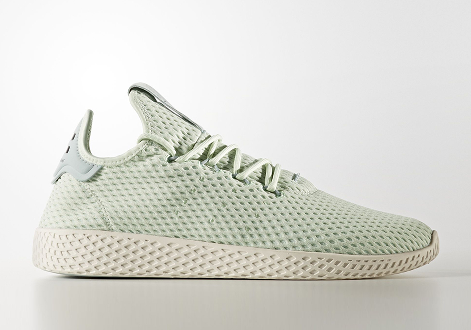 Pharrell adidas Tennis Hu Mint Green CP9765