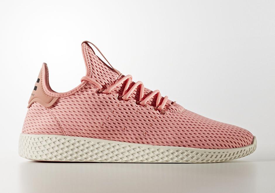 Pharrell adidas Tennis Hu Pink BY8715