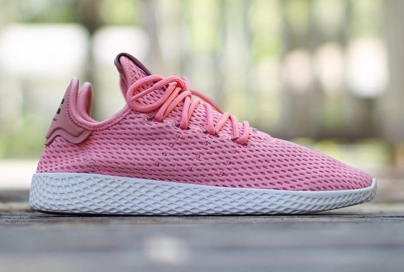Pharrell adidas Tennis Hu Raw Pink Release Date
