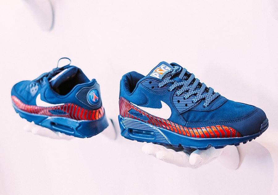 new style 1a6ec 22b73 PSG Shoe Gallery Nike Air Max 90 Custom