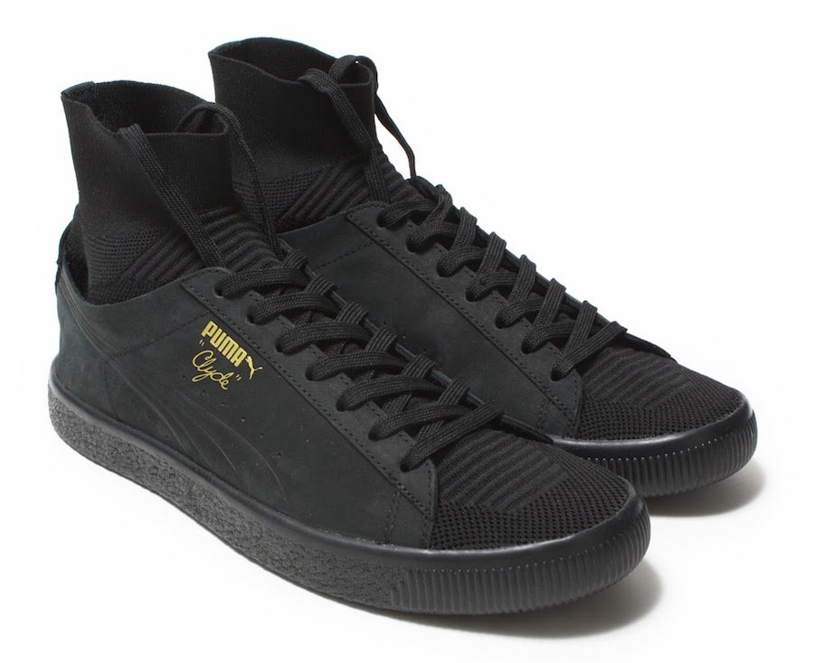 Puma Clyde Sock Select Black